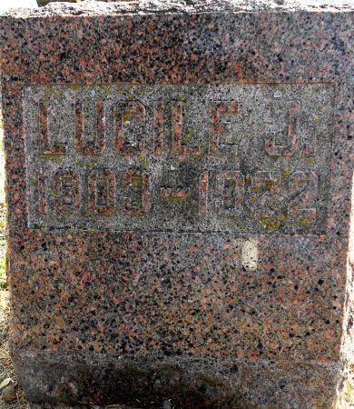 DRUM, LUCILE JULIA - Sac County, Iowa | LUCILE JULIA DRUM