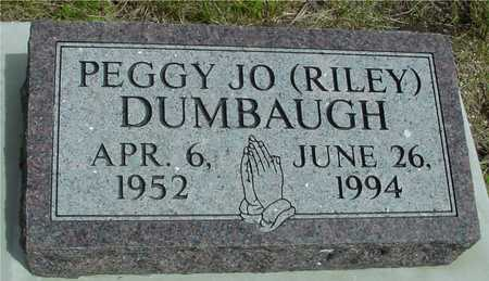 RILEY DUMBAUGH, PEGGY JO - Sac County, Iowa | PEGGY JO RILEY DUMBAUGH