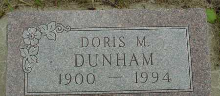 DUNHAM, DORIS M. - Sac County, Iowa | DORIS M. DUNHAM