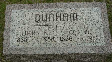 DUNHAM, GEORGE & LAURA - Sac County, Iowa | GEORGE & LAURA DUNHAM