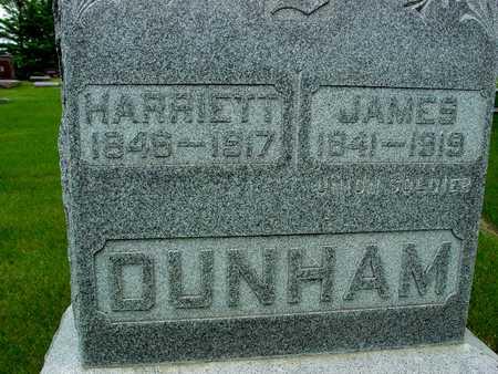 DUNHAM, JAMES & HARRIETT - Sac County, Iowa   JAMES & HARRIETT DUNHAM