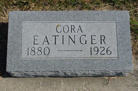 EATINGER, CORA - Sac County, Iowa | CORA EATINGER