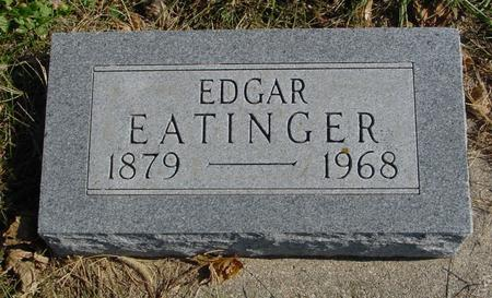 EATINGER, EDGAR - Sac County, Iowa | EDGAR EATINGER