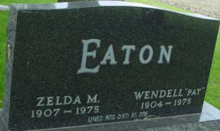 EATON, WENDELL & ZELDA - Sac County, Iowa | WENDELL & ZELDA EATON