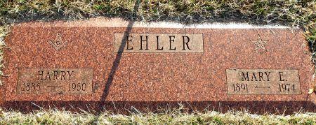 EHLER, HARRY - Sac County, Iowa   HARRY EHLER