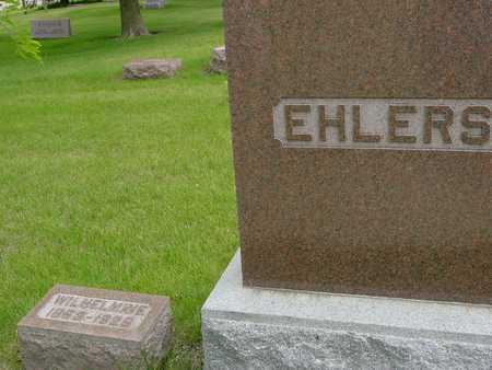 EHLERS, WILHELMINE - Sac County, Iowa | WILHELMINE EHLERS