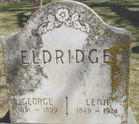 ELDRIDGE, GEORGE & LENA - Sac County, Iowa | GEORGE & LENA ELDRIDGE