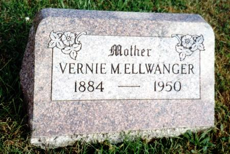ELLWANGER, VERNIE - Sac County, Iowa | VERNIE ELLWANGER