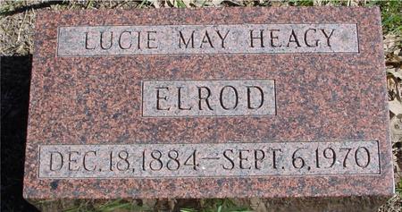 HEAGY ELROD, LUCIE MAY - Sac County, Iowa | LUCIE MAY HEAGY ELROD