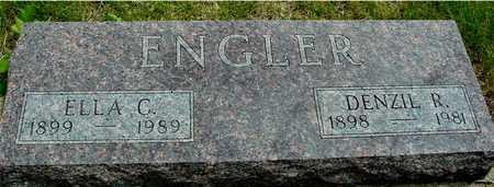ENGLER, DENZIL & ELLA - Sac County, Iowa | DENZIL & ELLA ENGLER