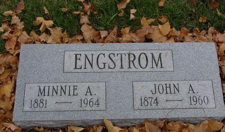 ENGSTROM, JOHN & MINNIE - Sac County, Iowa | JOHN & MINNIE ENGSTROM