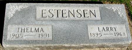 ESTENSEN, LARRY & THELMA - Sac County, Iowa | LARRY & THELMA ESTENSEN
