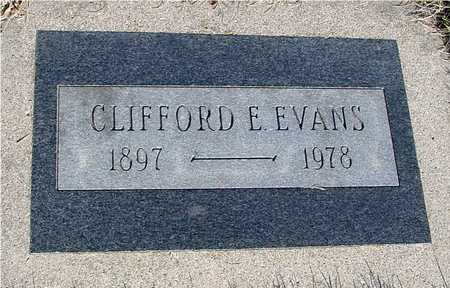 EVANS, CLIFFORD E. - Sac County, Iowa | CLIFFORD E. EVANS