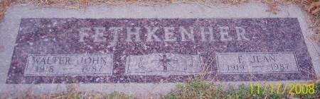 FETHKENHER, ELIZABETH JEAN - Sac County, Iowa | ELIZABETH JEAN FETHKENHER