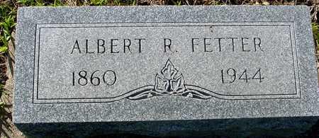 FETTER, ALBERT R. - Sac County, Iowa | ALBERT R. FETTER