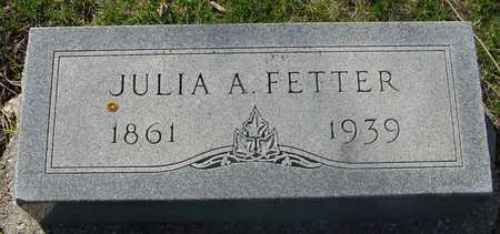 FETTER, JULIA A. - Sac County, Iowa | JULIA A. FETTER