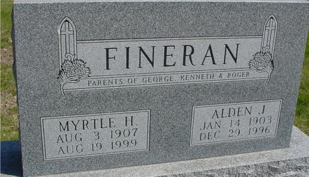 FINERAN, ALDEN & MYRTLE - Sac County, Iowa | ALDEN & MYRTLE FINERAN