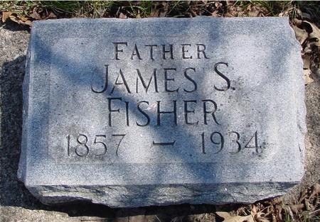 FISHER, JAMES S. - Sac County, Iowa   JAMES S. FISHER