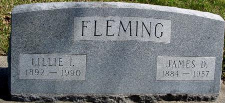 FLEMING, JAMES D. & LILLIE - Sac County, Iowa | JAMES D. & LILLIE FLEMING