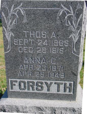 FORSYTH, THOMAS A. & ANNA - Sac County, Iowa | THOMAS A. & ANNA FORSYTH