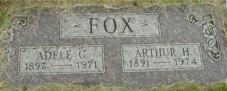 FOX, ARTHUR & ADELE - Sac County, Iowa   ARTHUR & ADELE FOX
