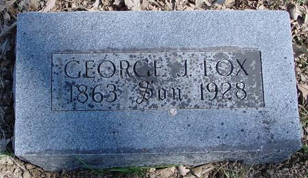 FOX, GEORGE J. - Sac County, Iowa | GEORGE J. FOX