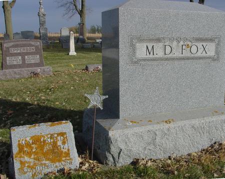 FOX, M. D. - Sac County, Iowa | M. D. FOX