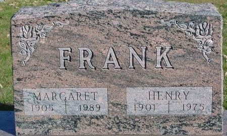 FRANK, HENRY & MARGARET - Sac County, Iowa | HENRY & MARGARET FRANK