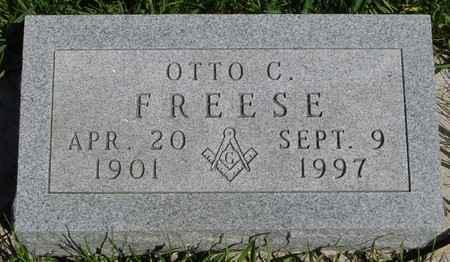 FREESE, OTTO C. - Sac County, Iowa | OTTO C. FREESE