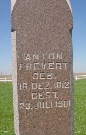 FREVERT, ANTON - Sac County, Iowa | ANTON FREVERT