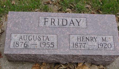 FRIDAY, HENRY & AUGUSTA - Sac County, Iowa | HENRY & AUGUSTA FRIDAY