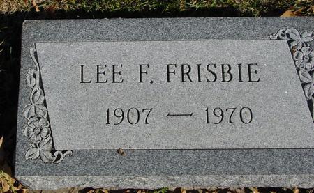 FRISBIE, LEE F. - Sac County, Iowa | LEE F. FRISBIE