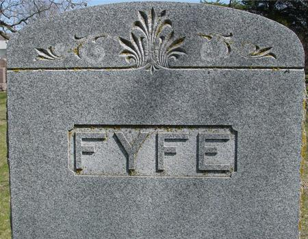FYFE, MORRIS - Sac County, Iowa   MORRIS FYFE
