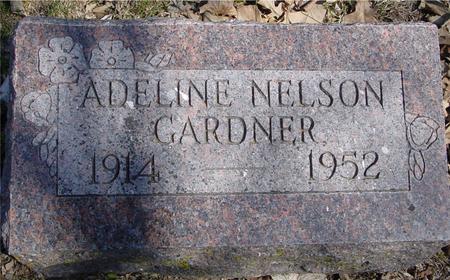 NELSON GARDNER, ADELINE - Sac County, Iowa | ADELINE NELSON GARDNER
