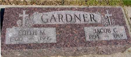 GARDNER, JACOB & EDITH M. - Sac County, Iowa | JACOB & EDITH M. GARDNER