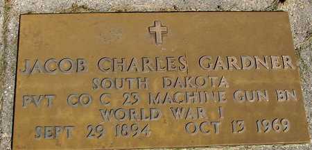 GARDNER, JACOB CHARLES - Sac County, Iowa   JACOB CHARLES GARDNER