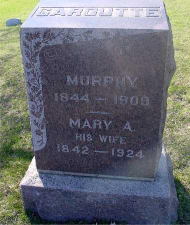 GAROUTTE, MURPHY & MARY - Sac County, Iowa | MURPHY & MARY GAROUTTE