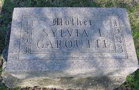 GAROUTTE, SYLVIA L. - Sac County, Iowa   SYLVIA L. GAROUTTE