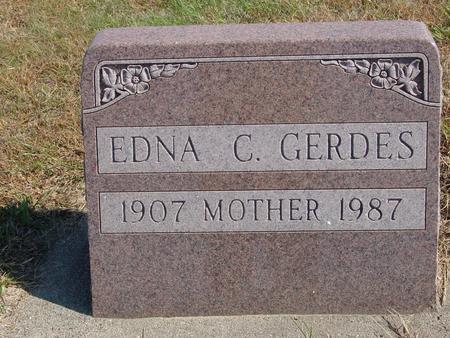 GERDES, EDNA C. - Sac County, Iowa | EDNA C. GERDES