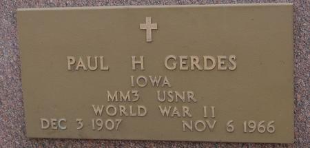 GERDES, PAUL - Sac County, Iowa | PAUL GERDES
