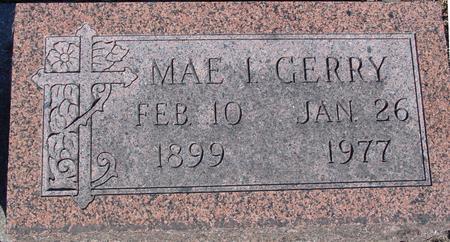 GERRY, MAE I - Sac County, Iowa   MAE I GERRY