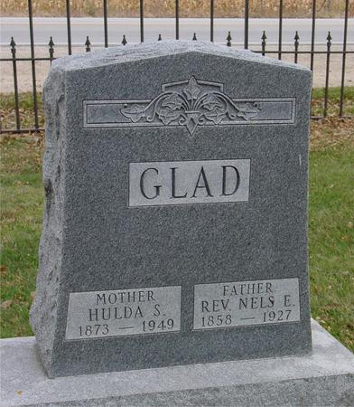 GLAD, REV. NELS E. - Sac County, Iowa | REV. NELS E. GLAD