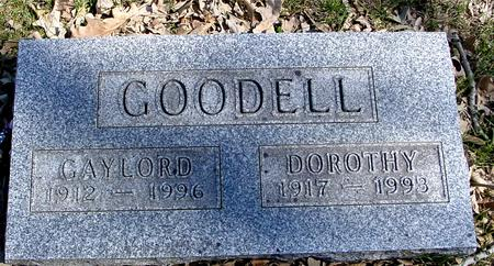 GOODELL, GAYLORD & DOROTHY - Sac County, Iowa | GAYLORD & DOROTHY GOODELL