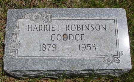ROBINSON GOODGE, HARRIET - Sac County, Iowa | HARRIET ROBINSON GOODGE