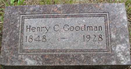 GOODMAN, HENRY C. - Sac County, Iowa   HENRY C. GOODMAN