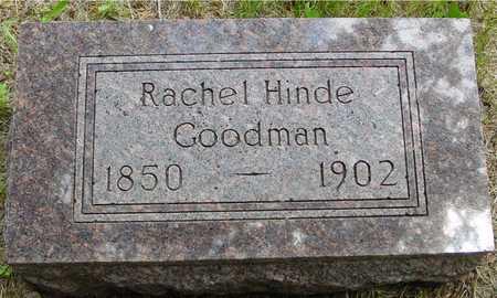 HINDE GOODMAN, RACHEL - Sac County, Iowa | RACHEL HINDE GOODMAN