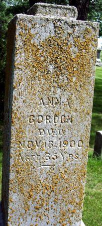 FREESE GORDON, ANNA - Sac County, Iowa | ANNA FREESE GORDON