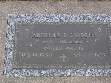 GOSCH, ARTHUR L. - Sac County, Iowa   ARTHUR L. GOSCH