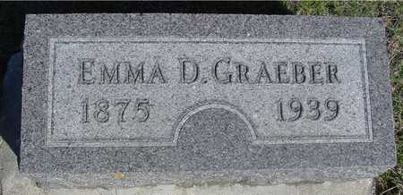 GRAEBER, EMMA D. - Sac County, Iowa | EMMA D. GRAEBER
