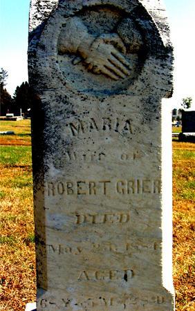 GRIER, MARIA - Sac County, Iowa | MARIA GRIER